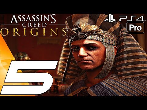 Assassins Creed Origins Walkthrough Part 4 Giza Pyramids Khaliset Boss Pro By Shirrako Game Video Walkthroughs