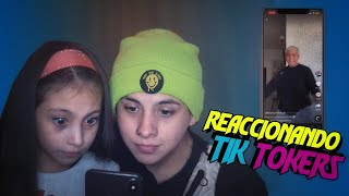 REACCIONANDO TIKTOKERS CON MI HERMANA 😲