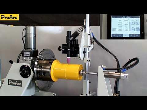 Видео обзор системы EZArc типа L с контроллером CB-107, в состав которого входит позиционер PT-103