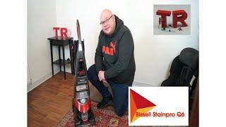 Bissell Stainpro Q6 Test Review Teppichsauger Teppichreinigungsgerät Waschsauger