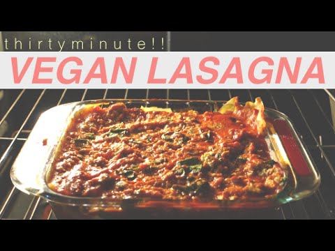 STUPID EASY VEGAN LASAGNA