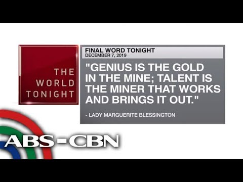 [ABS-CBN]  Final Word – December 7, 2019 | ANC