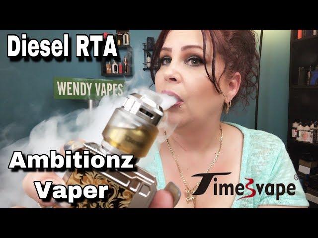 Diesel RTA | Timesvape & Ambitionz Vaper