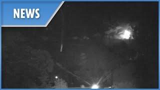 Meteor fireball lights up night sky in Perth