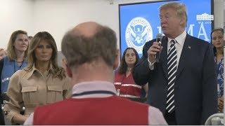 Trump Speaks After FEMA Hurricane Briefing