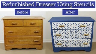 Funky Dresser Transformation Using Only A Stencil!