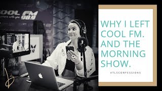 """This Is Why I Left Cool FM. And """"The Morning Show""""."""