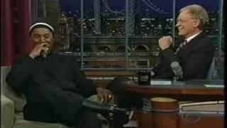 Paul Mooney on David Letterman (FULL SEGMENT)