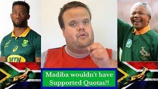 Siya Kolisi: Nelson Mandela Would Not Have Backed Quotas!?