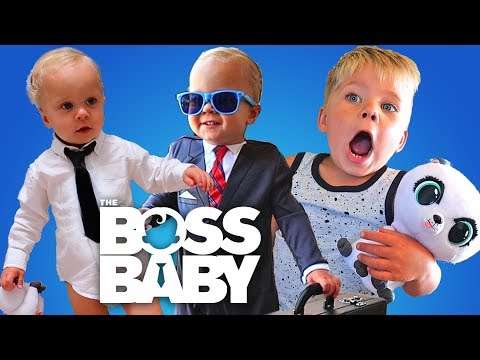 BOSS BABY IN REAL LIFE TAKES OVER THE HOUSE!