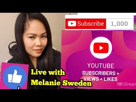 HOW TO GROW YOUR  SUBSCRIBERS  ON YOUR CHANNEL #MelanieSweden