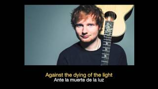 Ed Sheeran - Even My Dad Does Sometimes HD (Sub español - ingles)