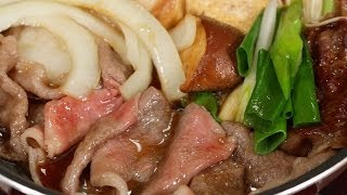 Kansai-style Sukiyaki Recipe   Cooking with Dog