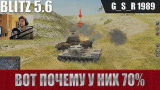 WoT Blitz - Как статисты играют во взводе - World of Tanks Blitz (WoTB)