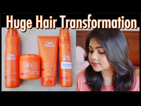 Wella Professionals Enrich Moisturising Treatment Review and Demo | Neetu K