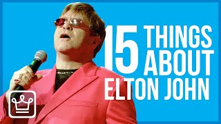 15 Things You Didn't Know About Elton John