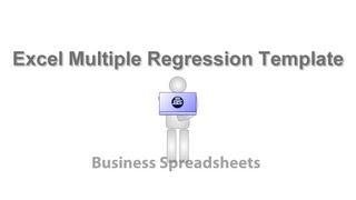 Regression Forecasting video