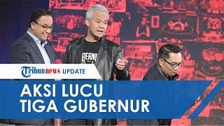 Kocaknya Anies Baswedan, Ganjar Pranowo, dan Ridwan Kamil Main TikTok Any Song Challenge