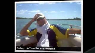 preview picture of video 'Sailing around Belle Mare and Ile-aux-Cerf Mzmiit's photos around Ile Aux Cerfs, Mauritius'