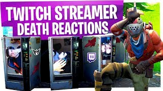KILLING FORTNITE TWITCH STREAMERS with REACTIONS! - Fortnite Funny Rage Moments ep11