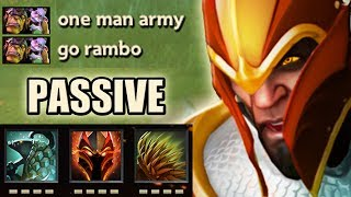 "One man Army ""Passive Tank"" [71 Armor 4k HP] Dota 2 Ability Draft"