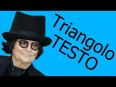 Renato Zero-Triangolo (testo in italiano)