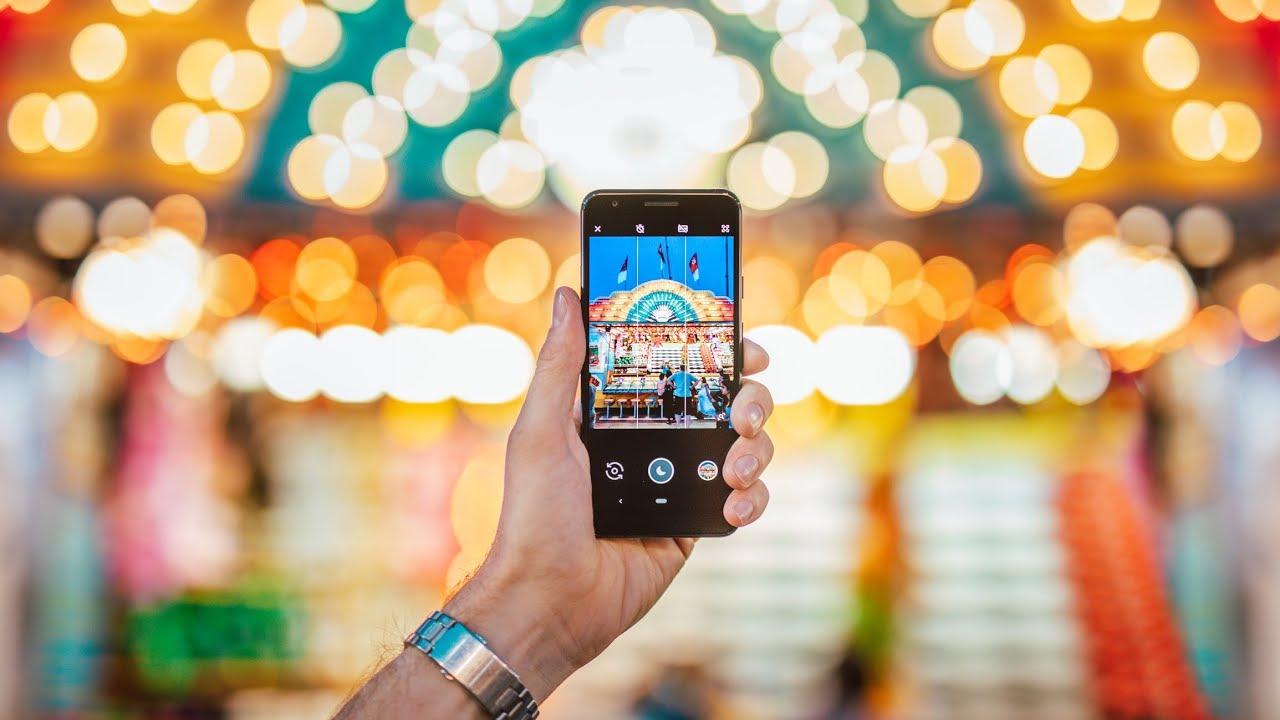 Start app camera Pixel 3a