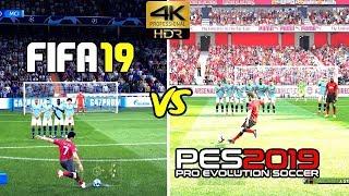 pes 2019 vs fifa 19 ps4 pro - TH-Clip