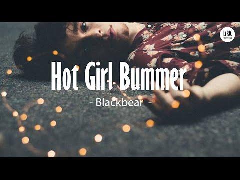 blackbear - hot girl bummer (Lyrics Video)