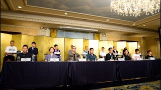 RIZIN.22 / RIZIN.23 対戦カード発表記者会見