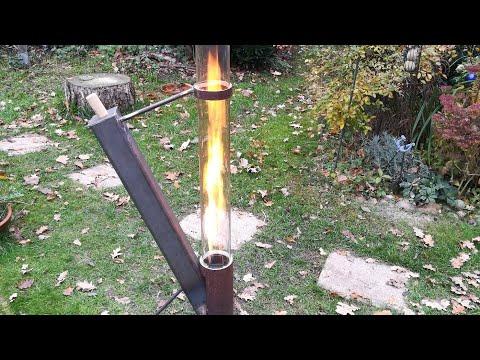 Feuerrohr für Holzpellets
