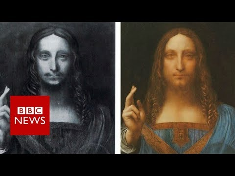 Da Vinci's $450m record art sale - BBC News