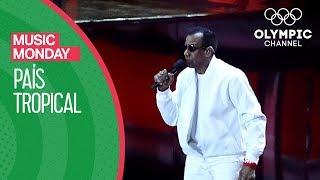 "Video thumbnail of ""Jorge Ben Jor - País Tropical @ Rio 2016 Opening Ceremony   Music Mondays"""