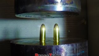 Hydraulic Press | Different Bullets | Fusing Together