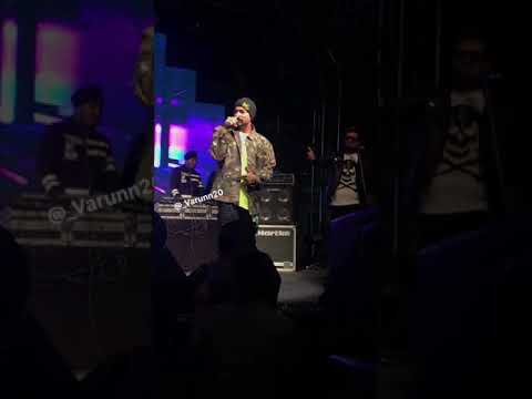 Bohemia Latest Poetry For His Dad❤️ #jaipur #live2018