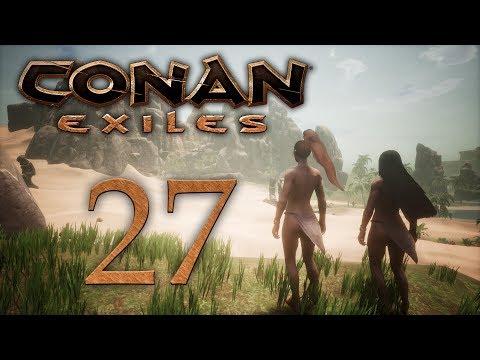 Conan Exiles - прохождение игры на русском - Религия Йога, зачистки Дарфарских лагерей [#27] | PC