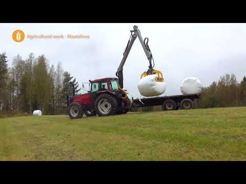 KESLA Tractor Attachments: one machine - multiple uses