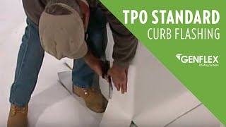 TPO Standard Curb Flashing