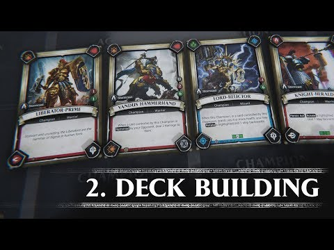 Tutorial 2 - Deck Building (Warhammer Age of Sigmar: Champions) thumbnail