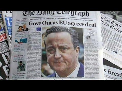 Βρετανία: Ανάμικτες αντιδράσεις για την συμφωνία στις Βρυξέλλες
