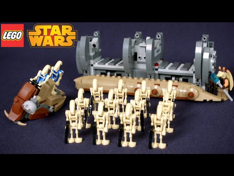 Lego Star Wars Battle Droid Troop Carrier From Lego