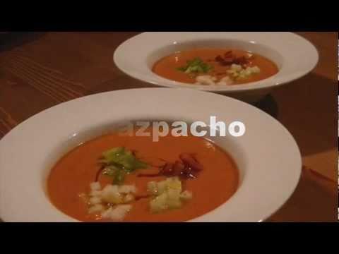 Gazpacho - studená letní polévka