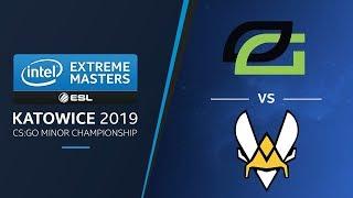 CS:GO - OpTic vs. Vitality [Dust2] - Group A Match 2 - IEM Katowice EU Minor 2019