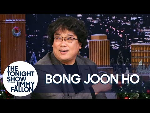 The Tonight Show: Bong Joon Ho Talks Parasite and That Eight-Minute Standing Ovation at Cannes