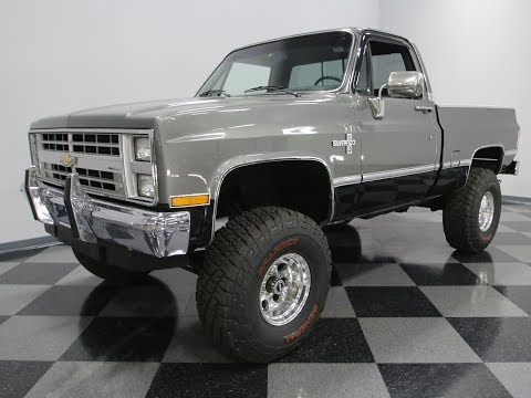 Video of 1987 K-10 Offered by Streetside Classics - Nashville - LS7L