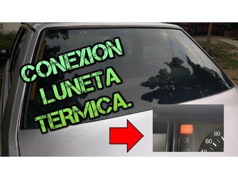 Conectando la luneta termica o desempañador trasero conexion-soldadura perfecta todos los autos.