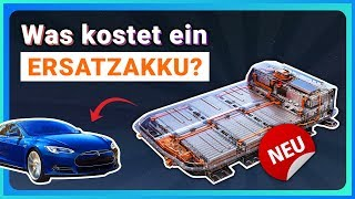 Neue E-Auto Batterie kaufen - Kosten, Garantie, Ersatzakku