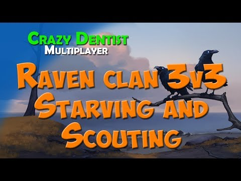 Northgard Raven clan in 3v3 | Starving and Scouting