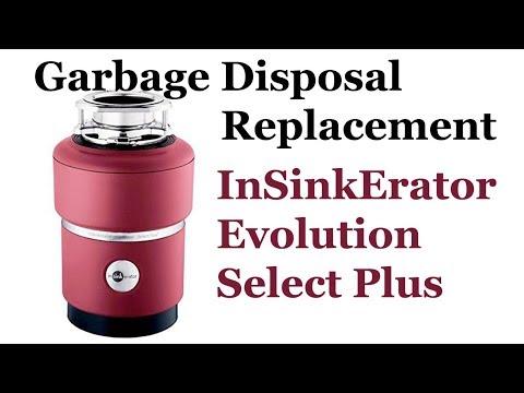 Garbage Waste Disposal InSinkErator Evolution Select Plus replacement