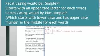 Python Mod02-03 Declaring Constants and Variables
